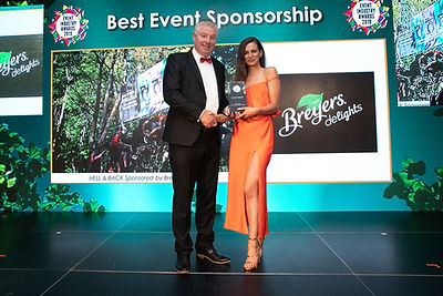 HELL & BACK Sponsored by Breyers Delights - 2019 Event Industry Awards winner