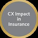 CX Impact in Insurance - B2C