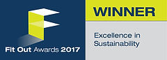Excellence in Sustainability winner logo