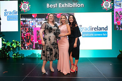 gradireland Graduate Careers Fair 2018 -2019 Event Industry Awards winner