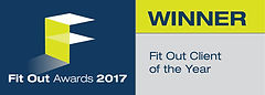 Fit Out Client of the Year 2017 winner logo