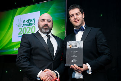 Stephen Nolan - The Green Awards 2020 recipient