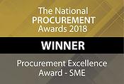 Procurement Excellence Award - SME