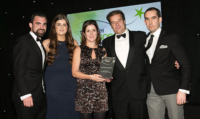 Aviva for FAI Junior Cup - Irish Sponsorship Awards winners 2016