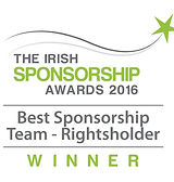 Best Sponsorship Team - Rightsholder 2016 winner logo