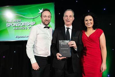 AIG - 2019 Irish Sponsorship Awards winner