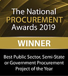 Best Public Sector, Semi-State or Government Procurement Project of the Year