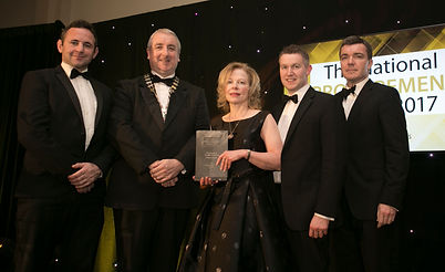 Exertis Supply Chain Services - National Procurement Awards 2017 winner