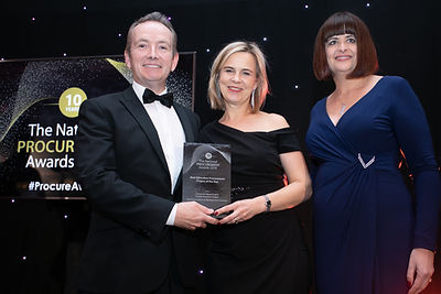 Communications & Management Institute - 2019 The National Procurement Awards winner