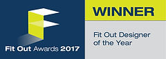 Fit Out Designer of the Year 2017 winner logo