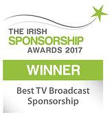 Best TV Broadcast Sponsorship winner logo