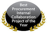 Best Procurement Internal Collaboration Project of the Year