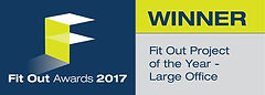Fit Out Project of the Year - Large Office winner logo