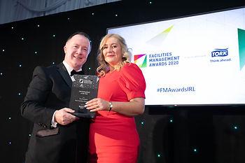 Úna Gallagher - 2020 Facilities Management Awards winner