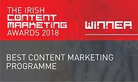 Best Content Marketing Programme 2018