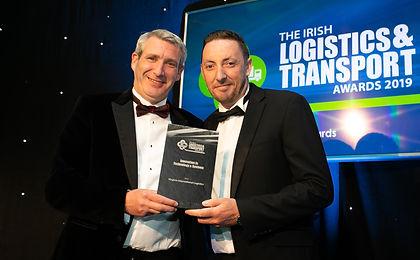 Virginia International Logistics - Irish Logistics & Transport Awards 2019 winnerson in Technology & Systems n