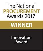 Innovation Award 2017 winner logo