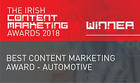 Best Content Marketing Award - Automotive 2018