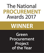 Green Procurement Project of the Year 2017 winner logo