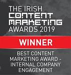 Best Content Marketing Award - Internal Company Engagement
