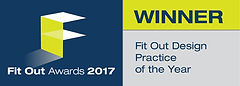 Fit Out Design Practice of the Year 2017 winner logo