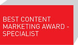 Best Content Marketing Award - Specialist