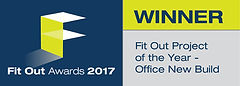 Fit Out Project of the Year - Office New Build winner logo