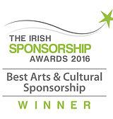 Best Arts & Cultural Sponsorship 2016 winner logo