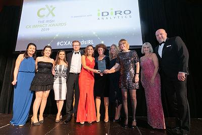 RSA Ireland & 123.ie - 2019 The Irish CX Impact Awards winner