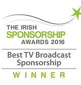 Best TV Broadcast Sponsorship 2016 winner logo