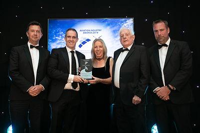 AAV Aviation Services Training Shannon,LIT & CAE Parc Aviation - Aviation Industry Awards 2019 winner