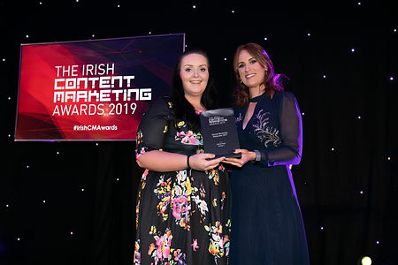 Róisín Healy, Version 1 - 2019 Irish Content Marketing Awards winner