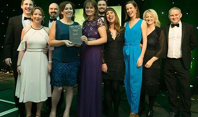 Woodie's Heroes - Sponsorship Awards winners 2017