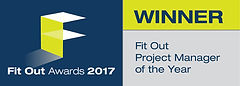 Fit Out Project Manager of the Year winer logo