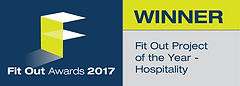 Fit Out Project of the Year - Hospitality winner logo