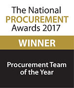 Procurement Team of the Year 2017 winner logo