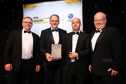 Goethe Institut, Merrion Square - Stewart Construction - 2019 Irish Construction Industry Awards winner