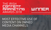 Most Effective Use of Content on Owned Media Channels 2018