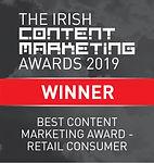 Best Content Marketing Award - Retail Consumer