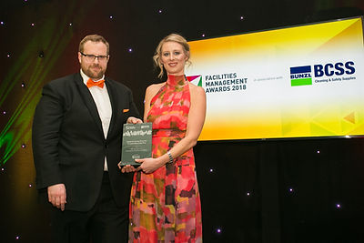 FBD Derrycourt & Derrycourt Cleaning Specialists - Facilities Management Awards 2018 winner