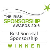 Best Societal Sponsorship 2016 winner logo