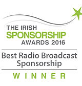 Best Radio Broadcast Sponsorship 2016 winner logo