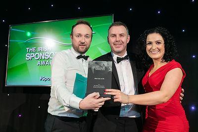 AIG Official Insurance - 2019 Irish Sponsorship Awards winner