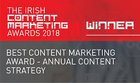 Best Content Marketing Award - Annual Content Strategy 2018