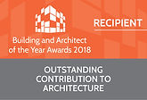 Outstanding Contribution to Architecture