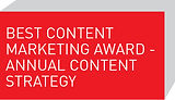 Best Content Marketing Award - Annual Content Strategy
