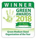Green Medium Sized Organisation of the Year