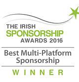 Best Multi-Platform Sponsorship 2016 winner logo