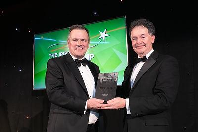Peter McKenna - 2019 Irish Sponsorship Awards recipient