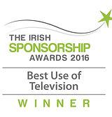 Best Use of Television 2016 winner logo